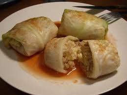 cabbage rolls with sauerkraut