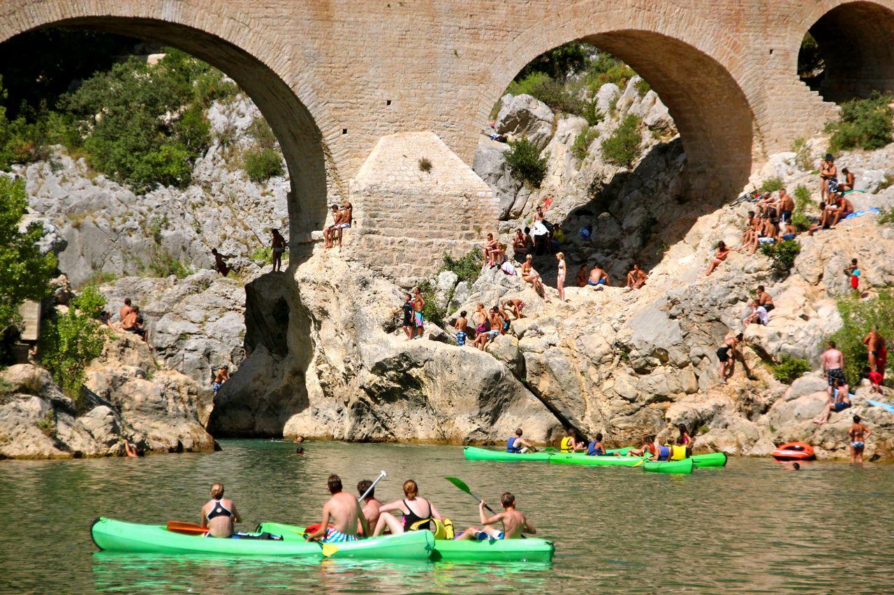 Pont du Diable & Hérault River
