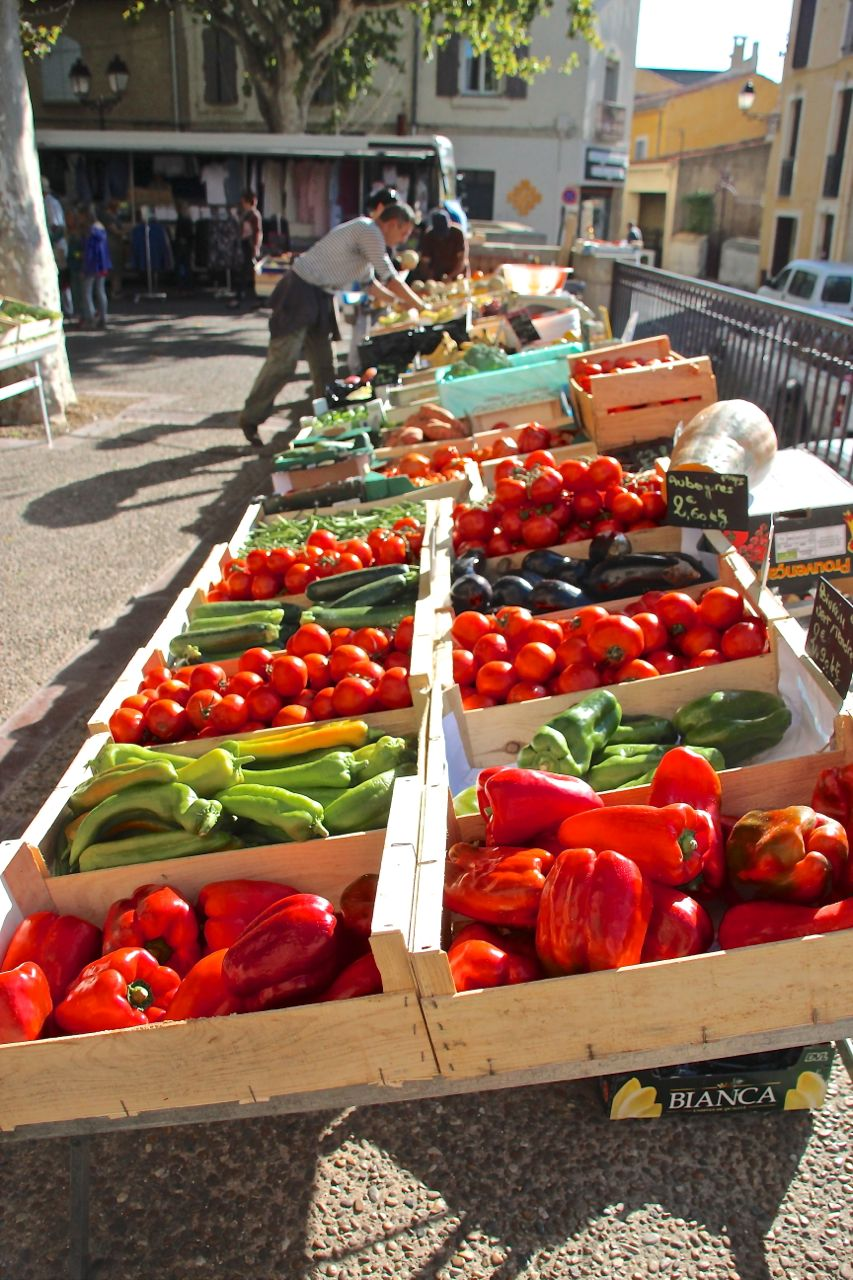 farmers markets of France