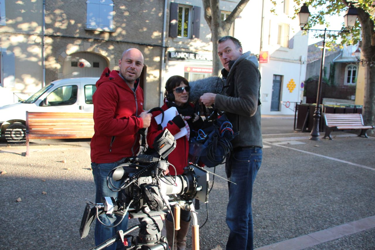 HouseHunters International Film Crew in Capestang