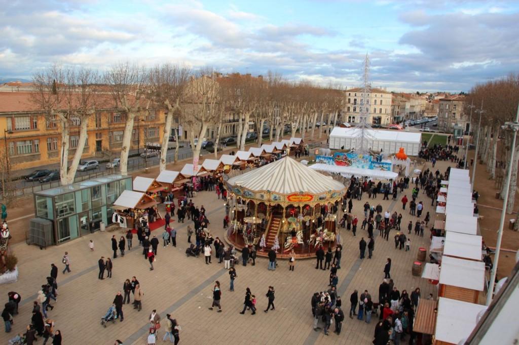 Carcassonne marche de noel
