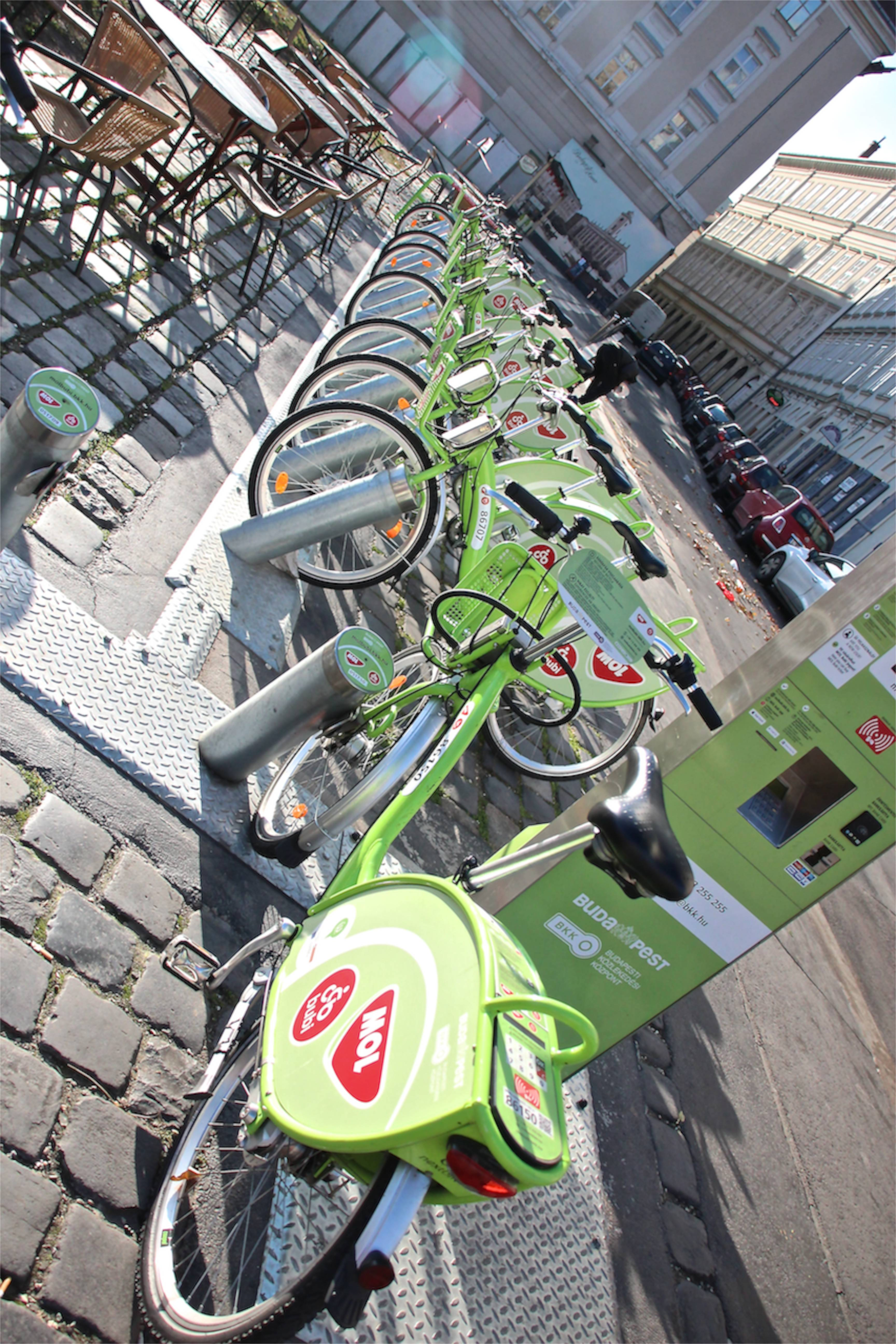 bike friendly Budapest