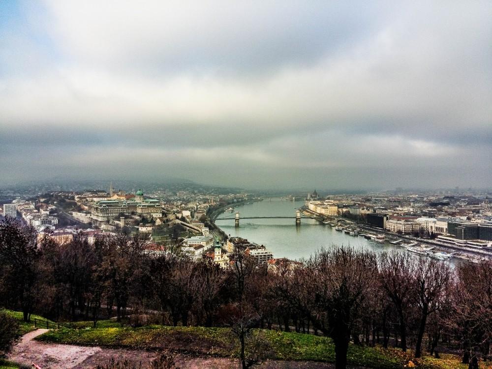 Blue Danube River Budapest
