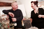 Marcel and Kate from Vine en Vacance talk shop