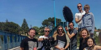 filming TV in southern France